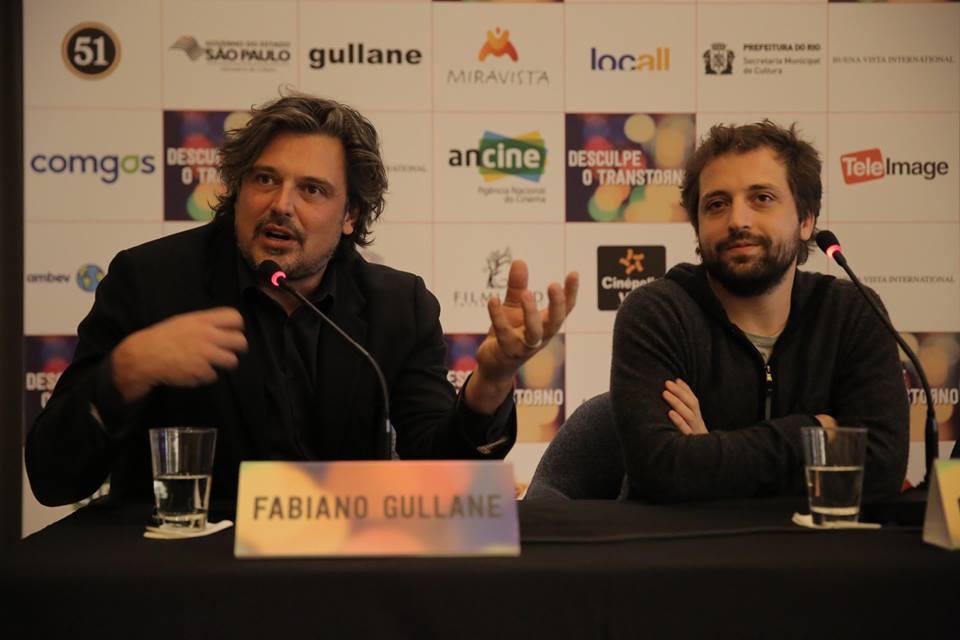 Fabiano Gullane, um dos produtores do filme, durante a coletiva de imprensa