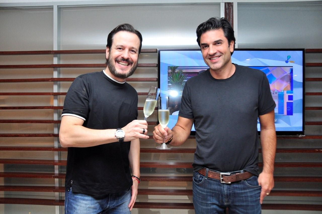 Celso Zucatelli e Edu Guedes, novos contratados da RedeTV!