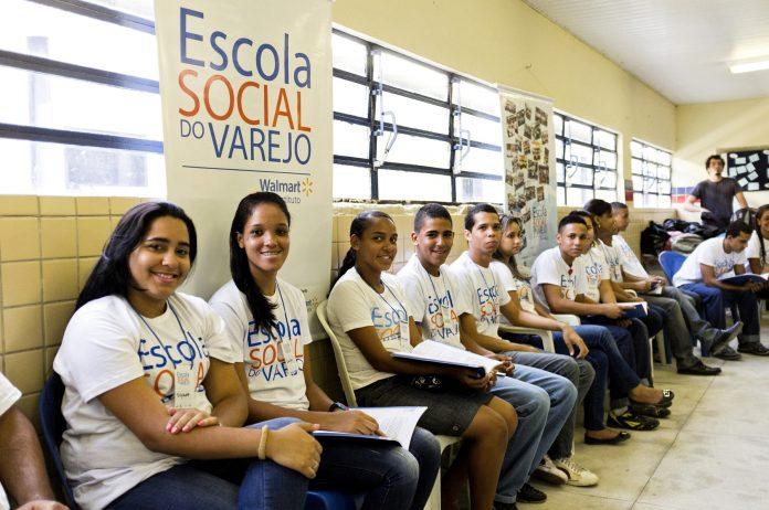 Foto ESV-Escola social do varejo - walmart - site Cultura Osasco