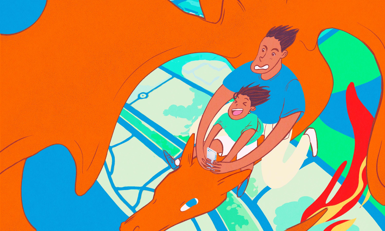 pais e filhos brincando - site Cultura Osasco